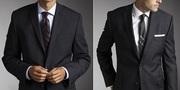 Фирма реализует мужские костюмы из США.