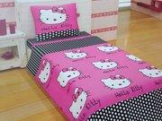 Детское постельное белье Украина,  Комплект Хелло Китти (Турция)