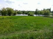 Продам участок в пос. Ольховка на берегу озера 10 км. от Харькова