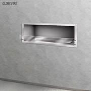 Биокамины. Встраиваемый биокамин «Очаг Focus 1200 NS» ТМ Gloss Fire