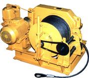 Лебедка электрическая ЛЭO–20М и ЛЭO–20М-2 (с канатоукладчиком)