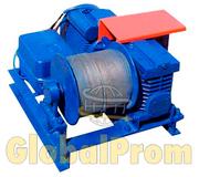Лебедка электрическая монтажно-тяговая типа ЛЭЧ