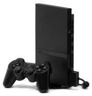 Приставка Sony PS2 с дисками,  б/у.