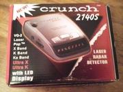 Лазерный радар детектор.Crunch 2140S