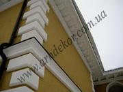 Декоративная отделка фасада,  фасадный декор из пенопласта