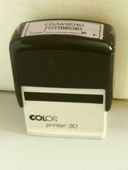 Штамп (штемпель). Оснастка Colop Printer 30.