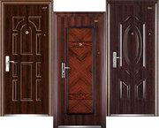 Двери входные металлические зконом класса (Китай).