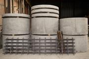 Производство и продажа железобетонных колец,  крышек и днищ