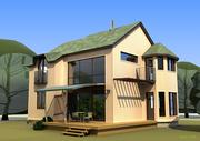 Каркасный дом,  проектирование и монтаж от компании АЛ-ХЕККА