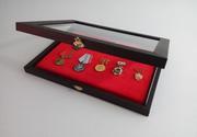 Витрины для значков,  медалей и других предметов коллекционирования