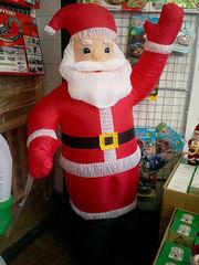 Дед мороз надувной