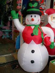 Снеговик надувной