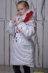 Распродажа! Зимнее теплое пальто (куртка) на девочку. От производителя