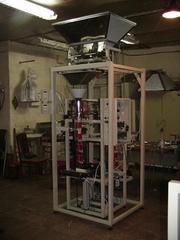 Автомат двухручейковый  вертикальный,  упаковка сыпучих продуктов