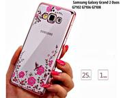Чехол-(Бабочка) с подарком для Samsung Galaxy Grand 2  G7102/G7106.