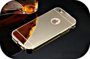 Чехол золотое зеркало для Samsung galaxy S7/S7 edge.