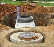 Выкопаем колодец,  сливную яму,  септик,  приямок,  смотровой колодец
