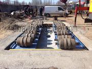 Бесфундаментные автомобильные весы 20 метров 80 тонн.