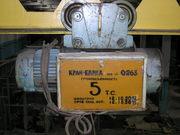 Продам краны подвесные электрический однобалочный общего назначения ГП