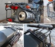 Багажники для мотоциклов. Мотодуги,  рамки.