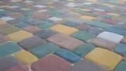 Продам сухопрессованную тротуарную плитку