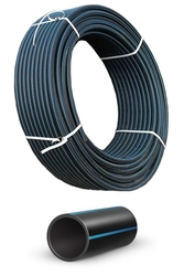 Трубы полиэтиленовые ПЕ-100 ПЕ-80 напорные для воды