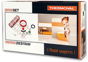 Комплект электр. теплого пола с терморегулятором - от 1, 0 кв.м.