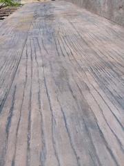 Декоративный штампованный бетон.