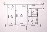 ул.Полтавский Шлях 126.Уютная двухкомнатная квартира.Общая площадь 45