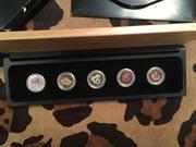 Набор коллекционных платиновых монет Discover Australia , 1/2 oz каждая