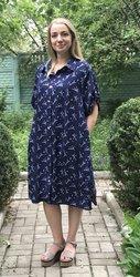 Женское платье-рубашка