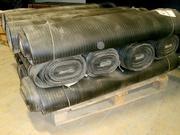 Рулонное напольное резиновое покрытие.