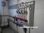 Установка систем отопления.