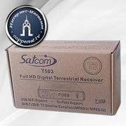 Цифровой эфирный тюнер Satcom T503 T2 Full HD (2 USB)