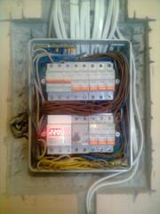 Электромонтажные работы в Харькове