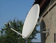 Установка спутниковой антенны, ремонт тюнера.