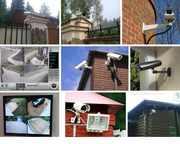 Установка видеонаблюдения,  сигнализации,  домофонов для предприятий