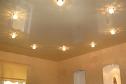 Европейский потолок за один день, установка, монтаж.