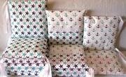 Комплект защитных бортиков для детской кроватки (4-е стороны).