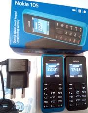 Оригинальный Nokia 105,  Б/У в хорошем состоянии.
