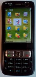 Смартфон Nokia N73 Music Edition (оригинальный / черный).