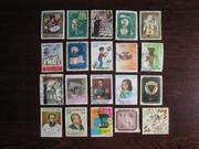 Подборка марок Колумбии,  100 + шт