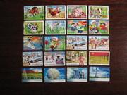 Подборка марок Австралии