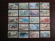 Подборка марок Франции