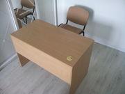 Продам офисный стол 110х60 ДСП+шпон