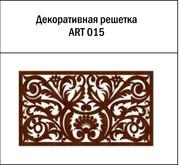 Декоративная решетка ART 015 для батарей из МДФ