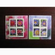 Красивые марки флора Габон