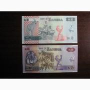 Банкноты Замбии,  UNC