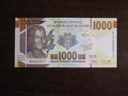 1000 франков Гвинеи 2015,  UNC