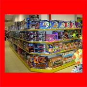 Стеллажи,  оборудование для детских товаров,  игрушек,  питания